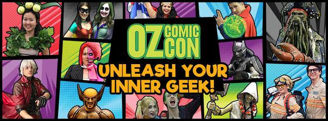 Oz Comic Con Perth