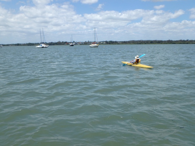 Paddling at Victoria Point