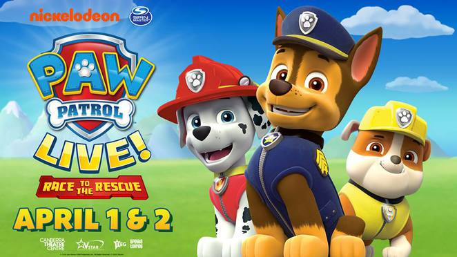paw patrol, canberra, ACT, toddler, preschooler, things to do,