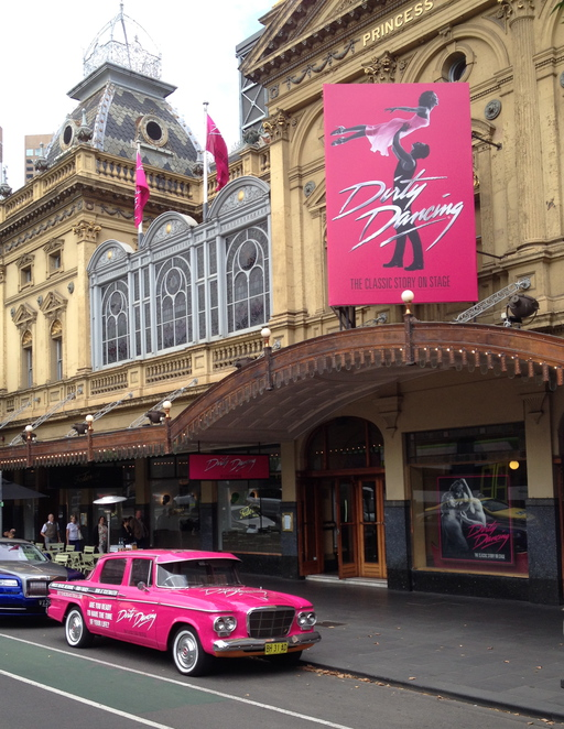 Princess Theatre Melbourne, Dirty Dancing the Classic Story on Stage, Kirby Burgess, Frances Baby Houseman, Kurt Phelan, Johnny Castle, Mark Vincent, Billy Kostecki, Maddie Peat, Penny Johnson