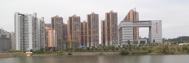 Qing Xiu Lake Surrounding Development Nanning