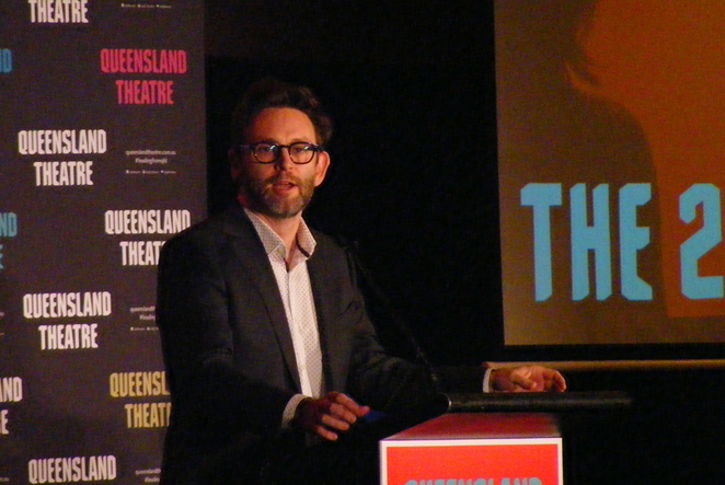Queensland Theatre director Sam Strong