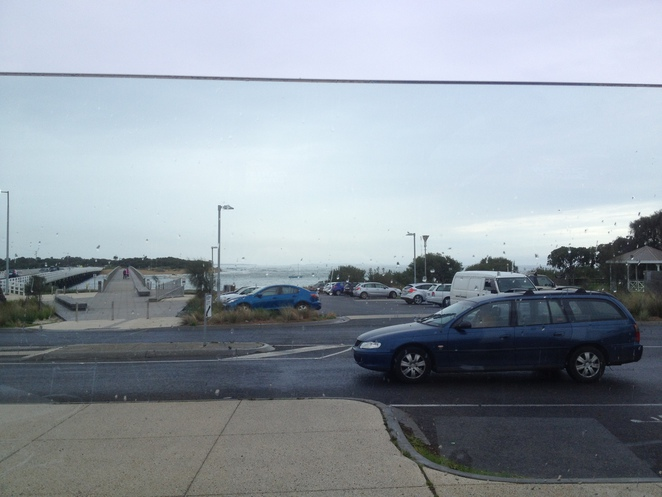 View from the courtyard, Barwon Heads Hotel