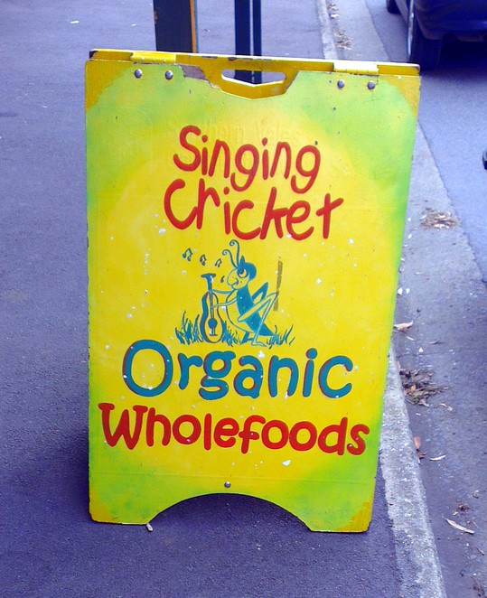 singing cricket, organic wholefoods, food coop, high street, willunga