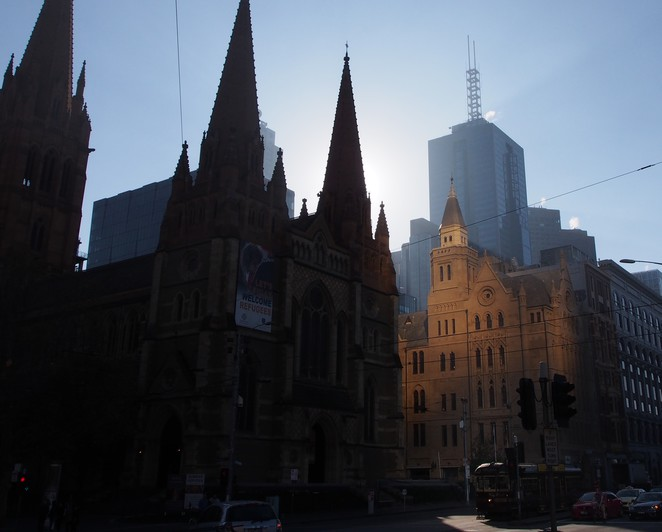 St Pauls Cathedral, Melbourne, walking tour