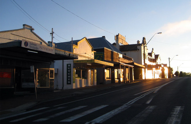 Tenterfield early in the morning