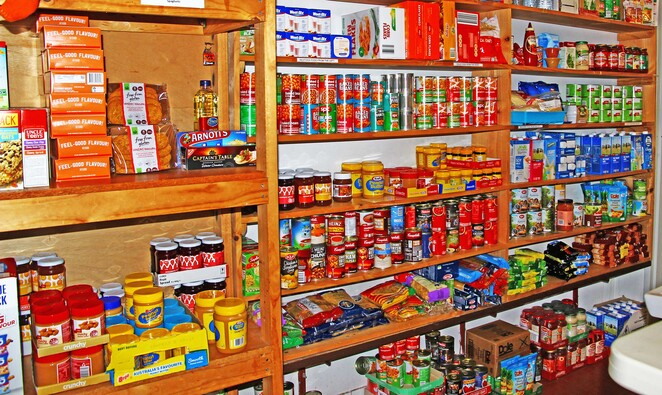 The food shelves
