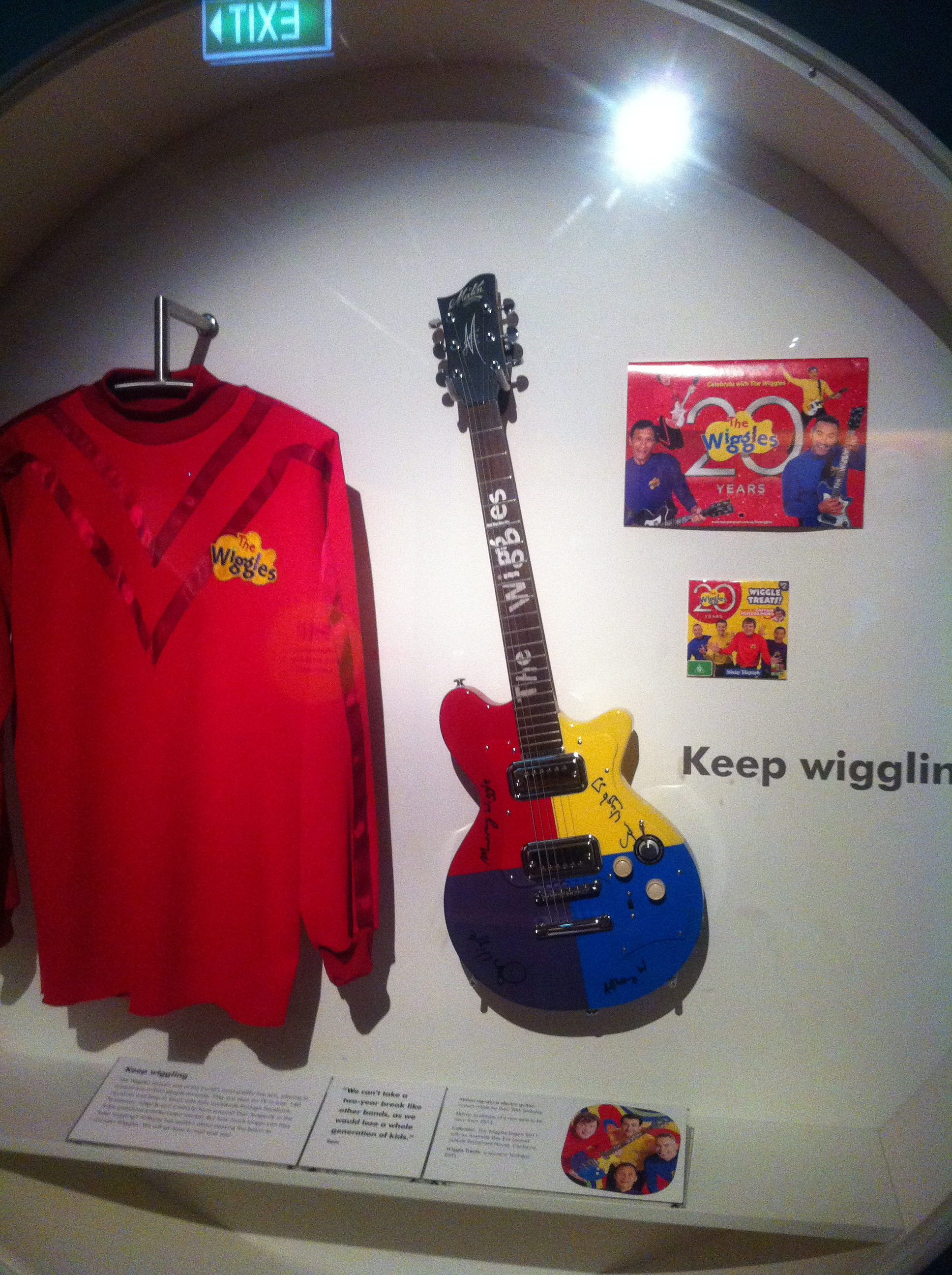 The Wiggles Exhibition At Powerhouse Museum Sydney