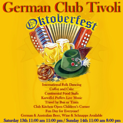 German Club Tivoli's Oktoberfest