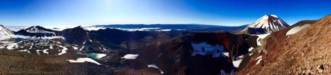 Tongariro Crossing, New Zealand, Hike, National Park