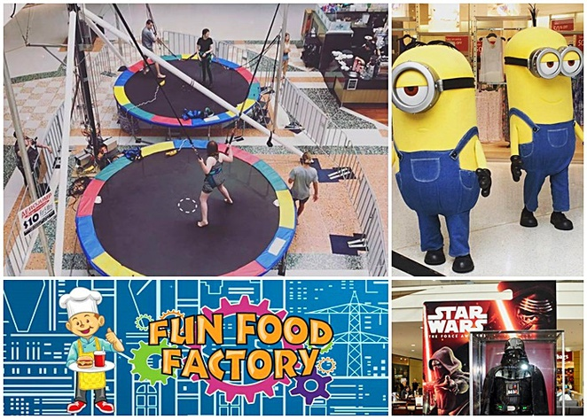 tuggeranong hyperdome, canberra, school holidays, shopping centres, kids, families, rainy days, children,
