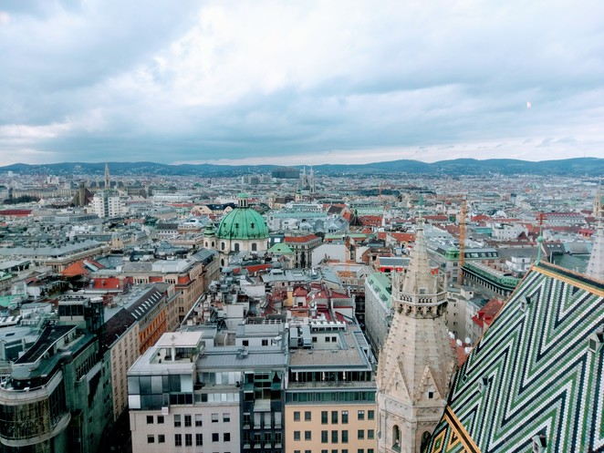 Vienna, city, view