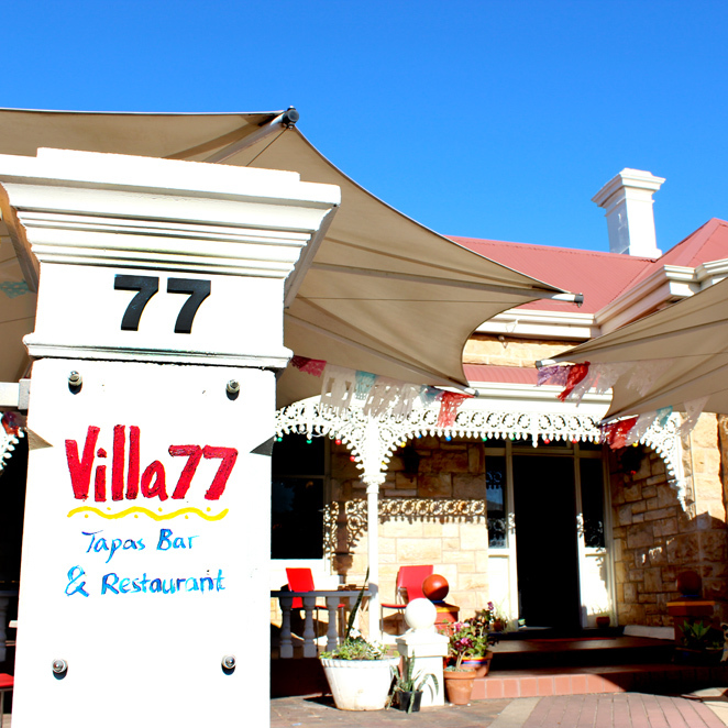 Villa 77, Spanish, Tapas, Sangria, Homestyle, Unley, Adelaide, South Australia, Dinner, Paella, Churros