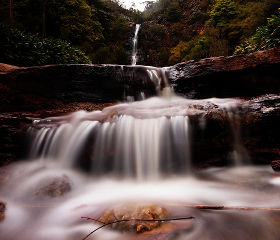 Waterfall Gully First Falls Adelaide South Australia