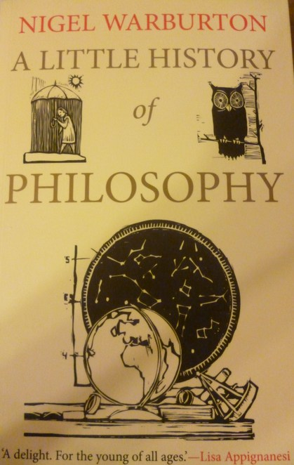 a little history of philosophy nigel warburton cover design review book