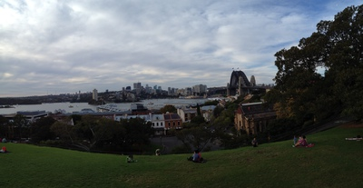 A view of the Sydney Harbour
