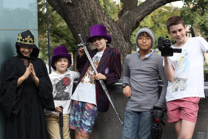 ACMI movie making for kids