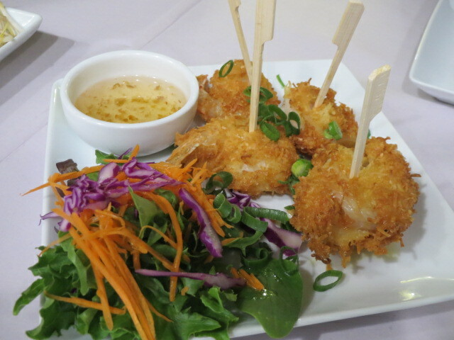 Angel Thai, Coconut Prawns, Adelaide