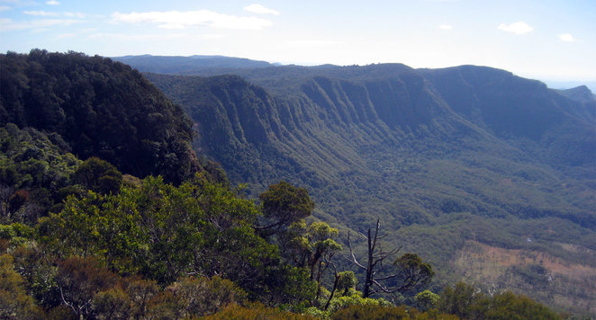 Bare Rock provides iconic views of the Scenic Rim