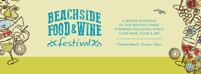 Beachside Food and Wine festival, city of onkaparinga, christies beach, food, wine, beer, cider, fun, beach, sun