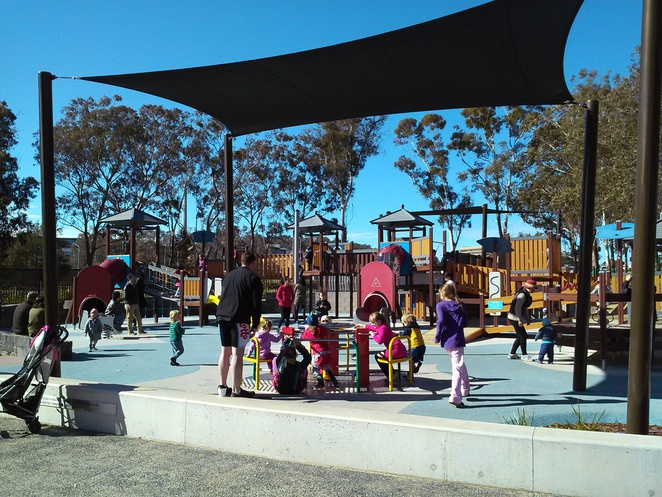Boundless playground, Canberra