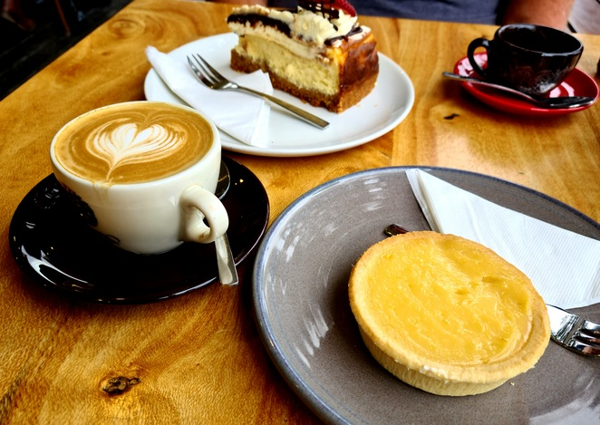 Cakes, coffee, cafe, afternoon tea, family, relaxed, casual, children, coffee