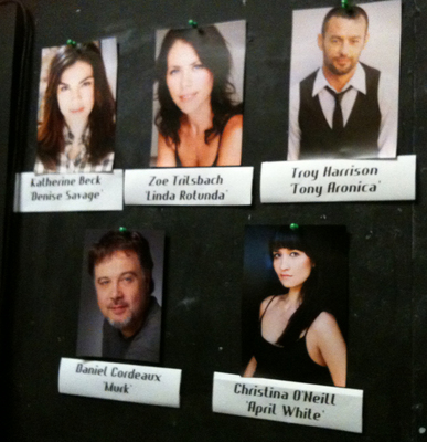 The 'Savage in Limbo' cast