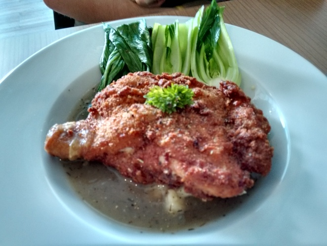chicken chop xero gravity climbing gym cafe