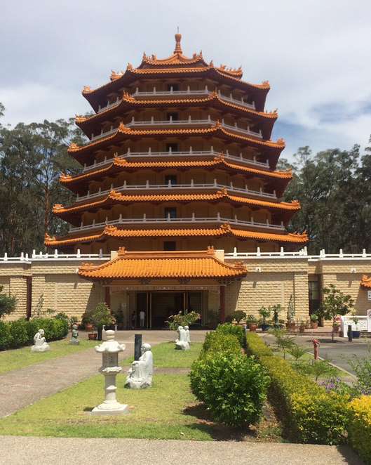 Pagoda at the Chung Tian Temple
