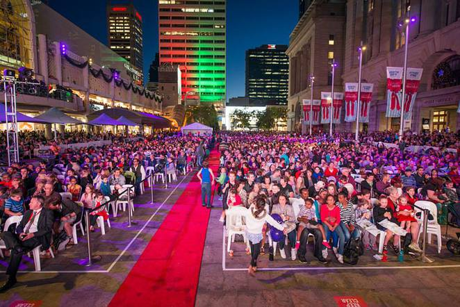 City of Perth, Christmas Perth, Forrest Place, Langley Park, Christmas Pageant, Christmas Lights, Christmas Nativity, Christmas Symphony