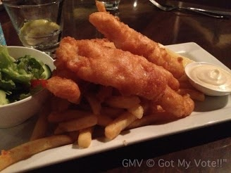 Dinner, Meal, Main, Fish & Chips