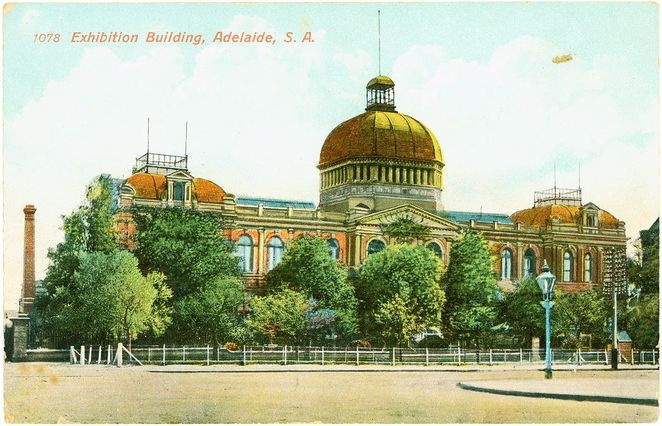 domes in adelaide, domes, Adelaide, cupolas, dome, cupola, jubilee exhibition building