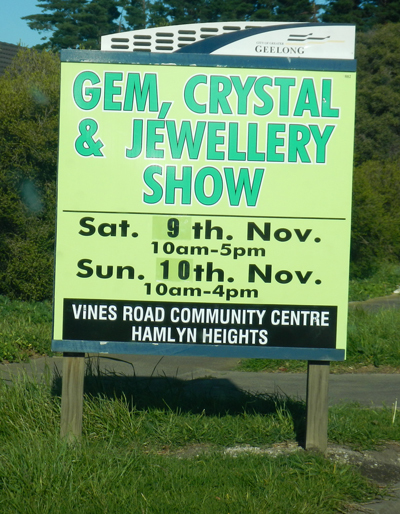 Gem, Crystal & Jewellery Show 2013
