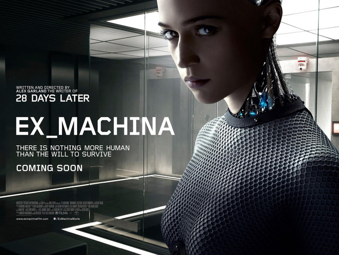 Ex Machina, Machine, Terminator, Cyborg, AI, Artificial Intelligence, Artificial, Intelligence, s movie, action, thriller, romance