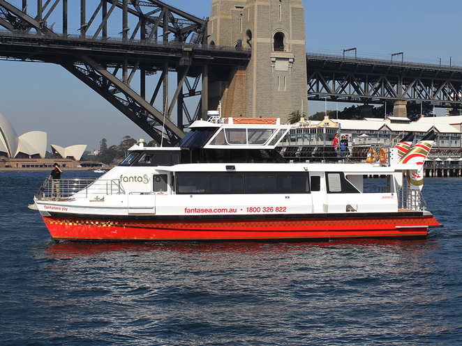 fantasea, cruise sydney, sydney harbour cruises
