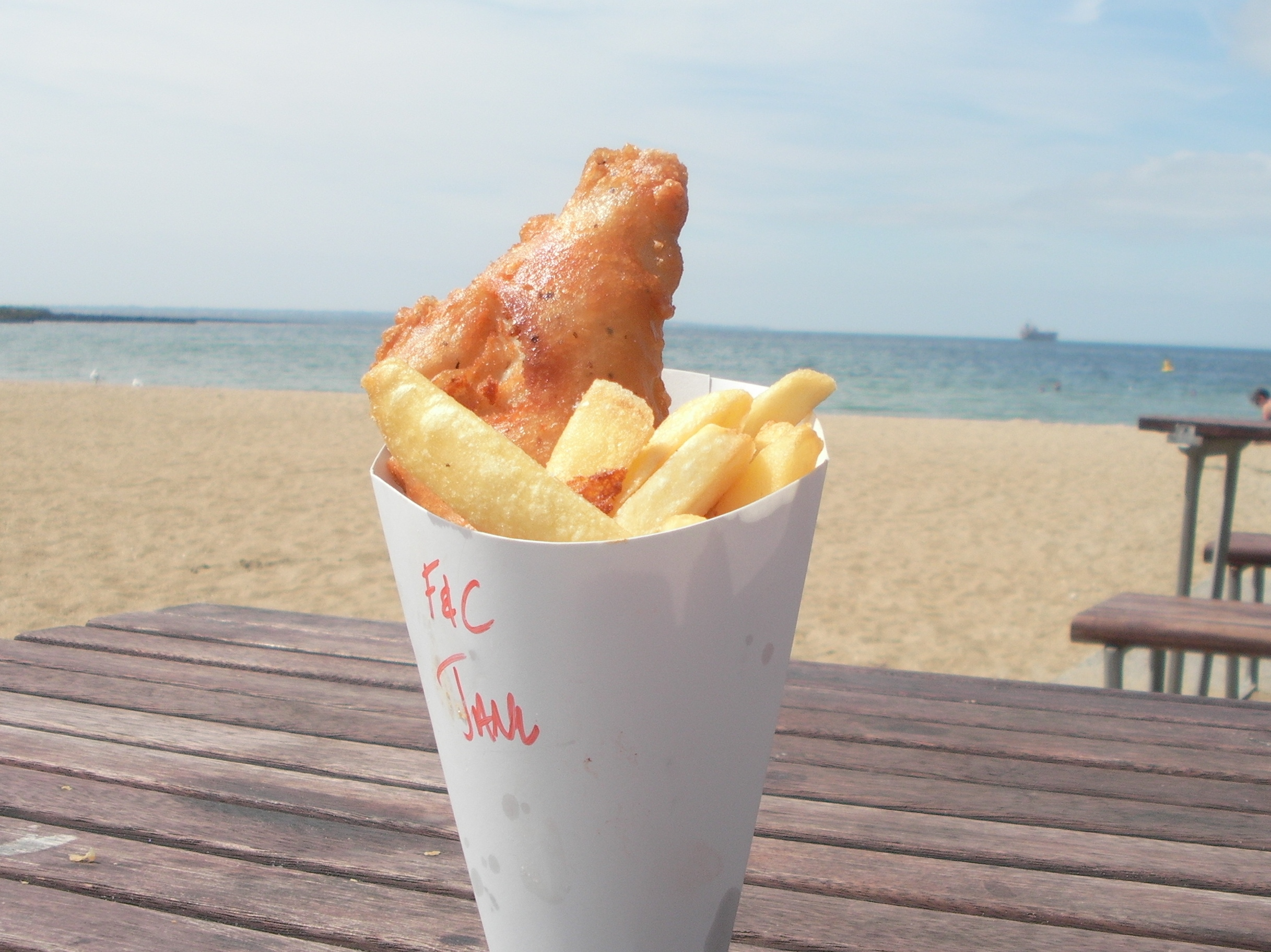 What to take to the sea from food