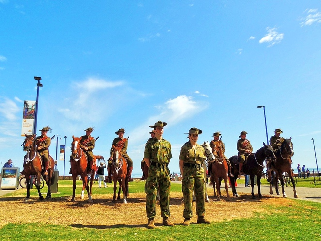 free things to do in adelaide, fun things to do, in adelaide, school holidays, adelaide kids, what to do in adelaide, activities for kids, free events, family entertainment, gallipoli reenactmentworld war 1