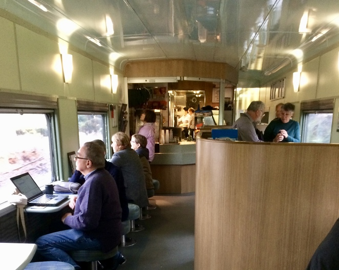 The café carriage