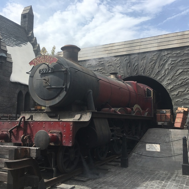 Harry Potter World Universal Studios Hollywood