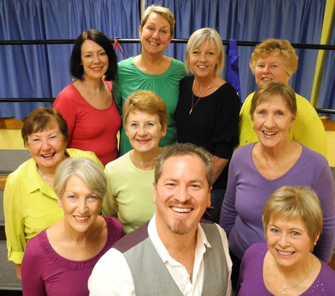 Hot Ginger women's barbershop chorus
