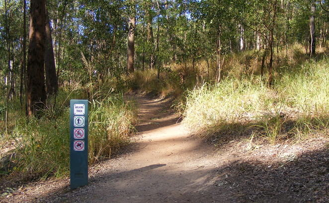 The LItchfield Track has recently been constructed to provide a walking track between the Gold Mine and The Summit
