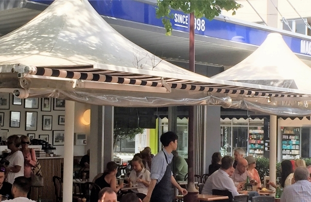 Maggios Cafe Bakery Cammeray Coffee breakfast lunch bread coffee cakes icecream pizza pasta pane panini milkshake smoothie soup salad indoor outdoor dining