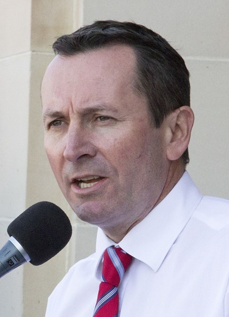 Mark,McGowan,premier