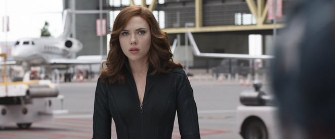Black Widow in MARVEL's Captain America: Civil War
