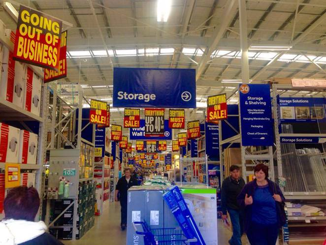 masters home improvement store adelaide airport mount gambier closing down sale discounts