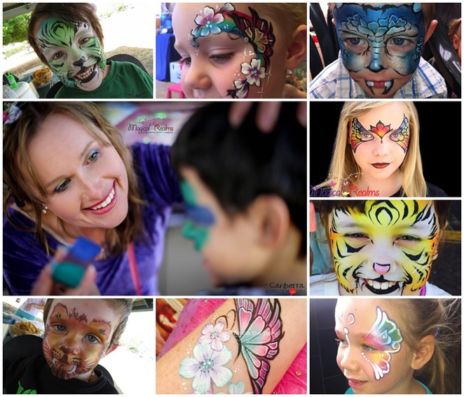 nessa the fairy, magical realms, canberra, ACT, face painting, kids parties, fairies, wizards,