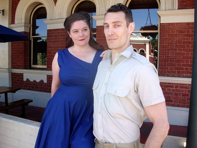 No Names, No Pack Drill, Old Mill Theatre, play, South Perth, World War II, Bob Herbert, wartime romance, soldiers, America, stage, performing arts