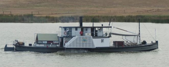 Oscar W, Goolwa, River Murray, Murray Mouth, steam, paddle steamer, heritage