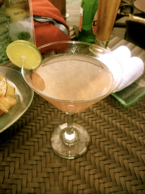 Lychee Martini @ Rock Bar (Photo by Neels McGee)