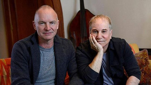 Paul Simon and Sting will be at A Day On The Green